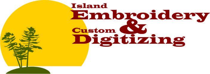 Island Embroidery Embroidery Digitizing Shirt Printing Vinyl Signs
